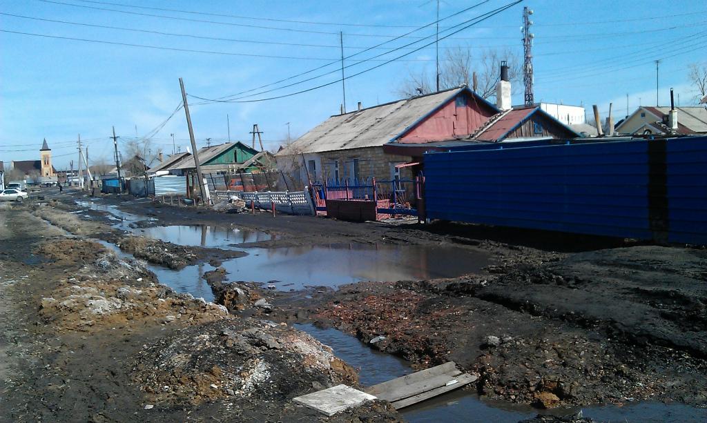 カザフスタンの雪解け3