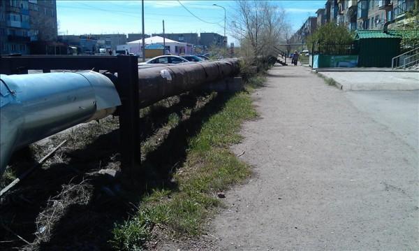 カザフスタンの水道管